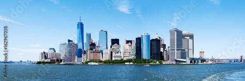 Panorama New York City Manhattan Skyline and Freedom Tower - 162967038