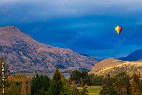 Hot air Balloon, Queenstown, New Zealand Poster