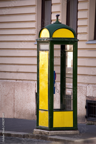 Budapest Phone Booth