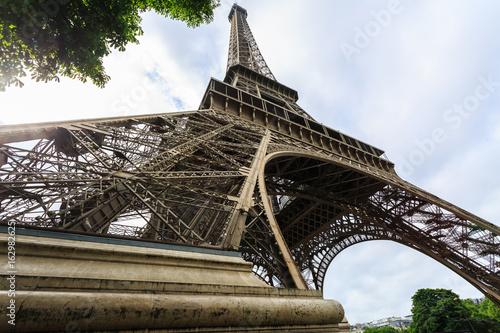 Eiffel Tower in Paris, France.