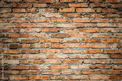 Papiers peints Brick wall Vintage red brick wall background