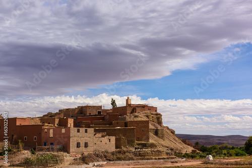Scenic Moroccan village