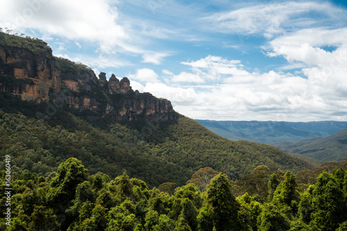 Three sisters in Blue Mountain Australia