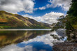 roleta: Reflections in Buttermere in Lake District