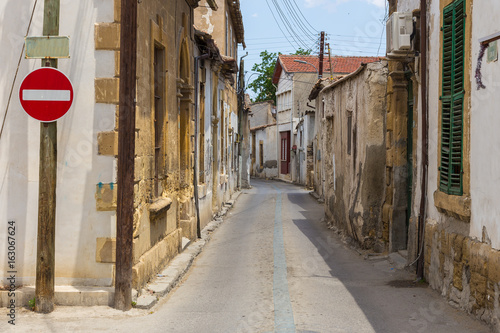 Neglected old city in Nicosia, Cyprus