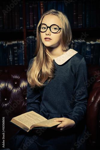 pensive student giel