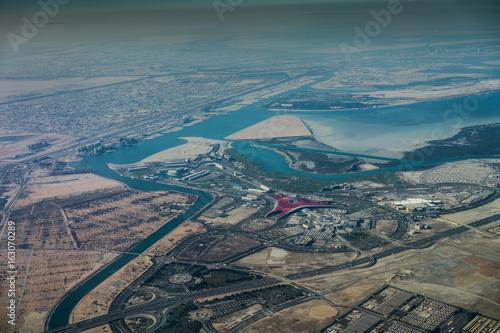 Aluminium Abu Dhabi Yas Island, Abu Dhabi - Luftbild