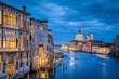 Quadro Canal Grande in mystic twilight, Venice, Italy