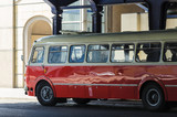 PUBLIC TRANSPORT BUS - An historic Polish bus on the streets of Poznan