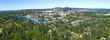 Bellevue Washington Urban Aerial Panoramic City Landscape