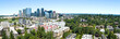 Bellevue Washington Skyline Panoramic Urban City Landscape