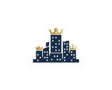 King Town Icon Logo Design Element - 163106612