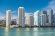 Miami skyline skyscraper