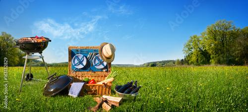 Barbecue picnic - 163132829
