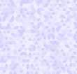 Violet triangle pattern. Seamless vector