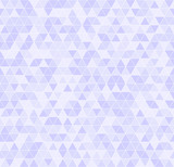 Violet triangle pattern. Seamless vector - 163145877