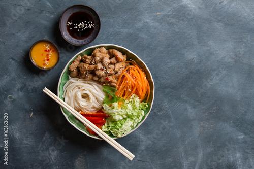 Buddha bowl of mixed vegetable