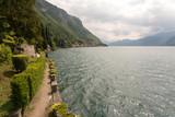 Lac de Côme depuis le parc - 163164848