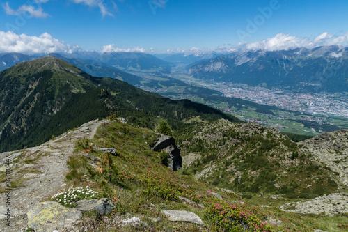 Gipfelweg auf die Viggarspitze bei Innsbruck