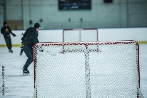 Hockey Goal Poster