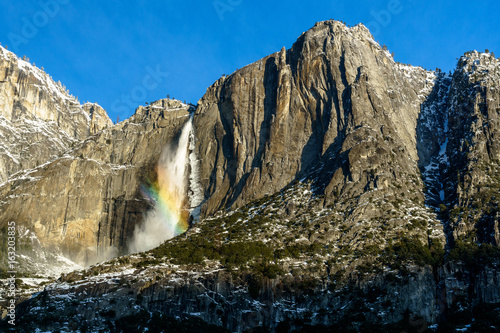 Morning Rainbow - Yosemite Falls