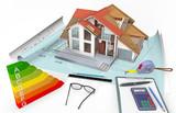 Maison consommation et performance en énergie  - 163234856