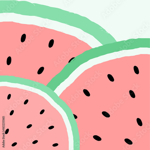 Abstract Watermelon Design - 163235060