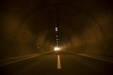empty traffic tunnel background