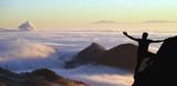Adventurer watching the clouds - 163236093