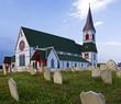 Church in Trinity in Newfoundland