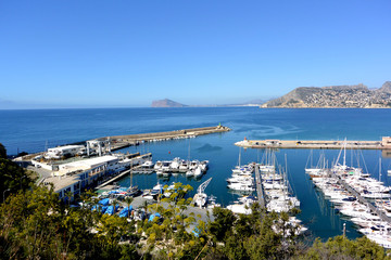 Port of Calpe Spain