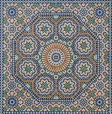 Traditional oriental Moroccan mosaic, Meknes, Morocco - 163289223