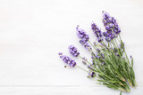 Lavender flowers. - 163296034