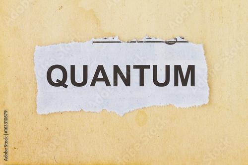 Quantum physics плакат