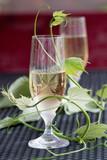 Glass of white wine - 163334466