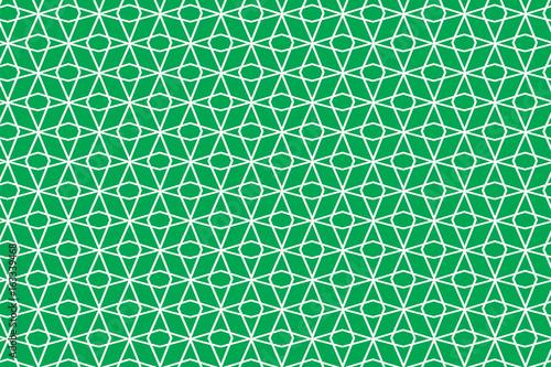 obraz lub plakat Green rhombus net pattern
