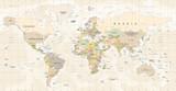 World Map Vector. Detailed illustration of worldmap - 163350683