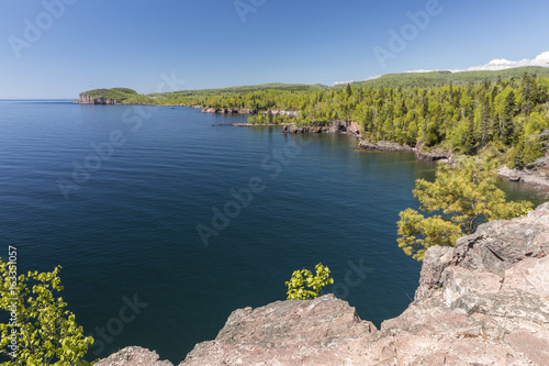 Lake Superior Scenic View