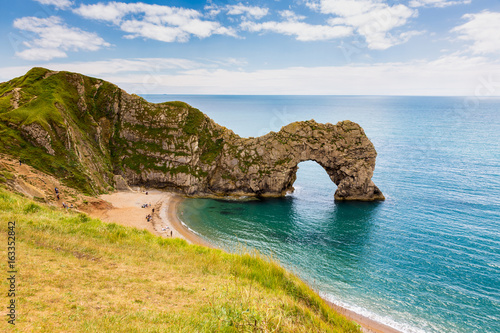 Durdle Door, travel attraction on South England, Dorset Poster