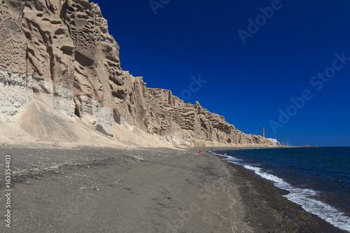 spiaggia di Vlychada - Santorini