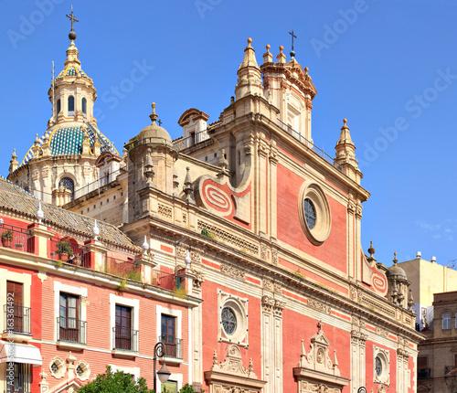 Séville, église du Divin Sauveur