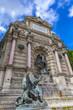 Fontaine Saint Michel in Paris