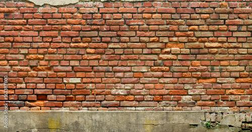 Texture of grunge brick wall