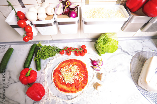 Prepare crispy and tasty pizza