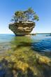 Turnip Rock on Lake Huron - Port Austin, Michigan