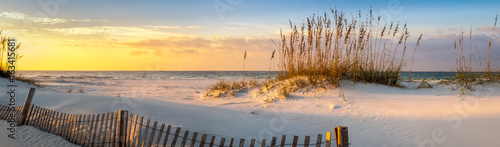 Leinwandbild Motiv Pensacola Beach Sunrise
