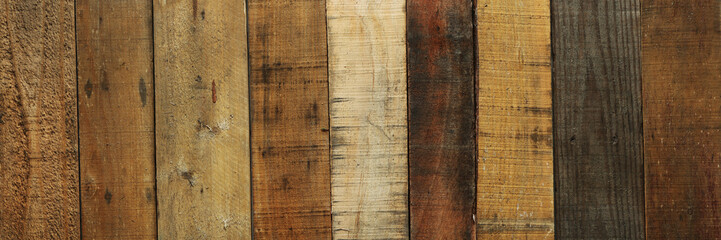 Old worn out wooden boards background