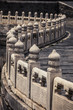 Stone railing at the Forbidden City