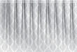 Thai vintage gray scale wrinkle curtain, vector pattern abstract background - 163430269