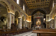 Interior of San Lorenzo in Lucina, Rome
